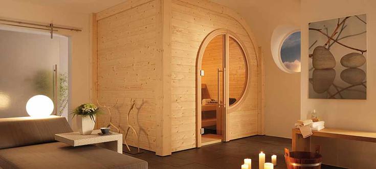 sauna designs zu hause. Black Bedroom Furniture Sets. Home Design Ideas
